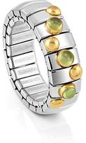 Nomination Ring XTE Peridot Green, Peridot Stainless Steel Adjustable Size Ring Size Adjustable - 044600 / 016