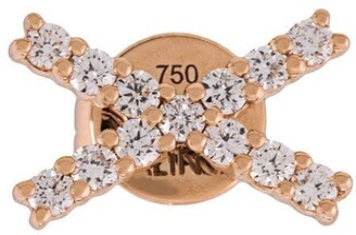 Alinka 18kt gold KATIA diamond stud earring