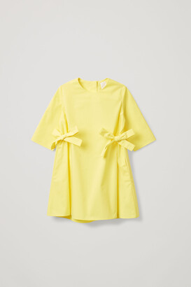 Cos Side Tie Dress