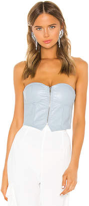 superdown Harley Strapless Bustier Top
