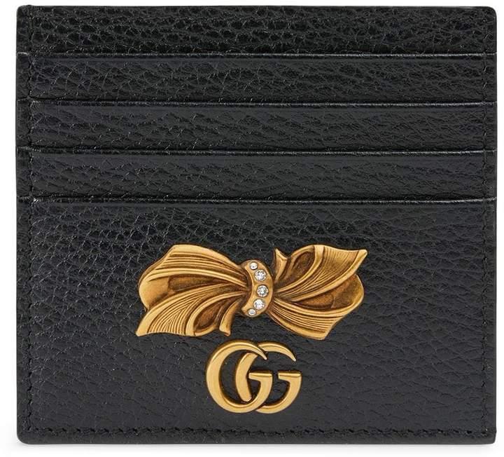 0b7d2d48a73 Gucci Leather Card Case - ShopStyle