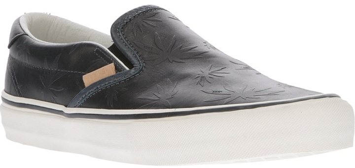 Vans leather slipper