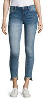 Design Lab Lord & Taylor Hi-Lo Skinny Jeans