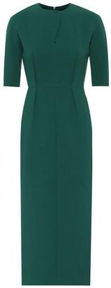 Emilia Wickstead Exclusive to Mytheresa a Trista wool midi dress