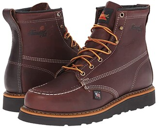 Thorogood American Heritage 6 Moc Soft Toe (Walnut) Men's Work Boots