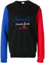 Le Coq Sportif tricolour 1882 sweatshirt