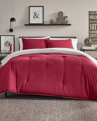 Nautica Solid Reversible Comforter Set