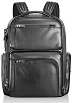 Tumi Men's 'Arrive - Bradley' Calfskin Leather Backpack - Black