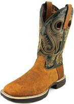 Durango Western Boots Mens Rebel Pull Leather 10 M Brown DDB0076