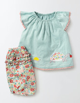 Summer Animals Play Set Seafoam/Tortoise Baby Boden