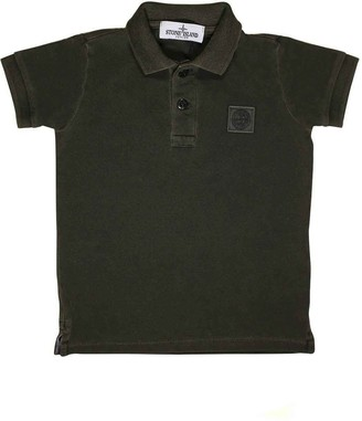 Stone Island Junior Polo Military Green