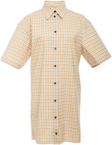 Victoria Beckham Stretch Check Shirt