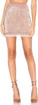 Free People Sequin Mesh Wild Child Skirt