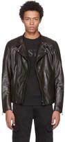 Belstaff Black Leather Rebel Bxs Jacket