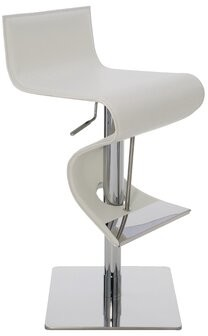 Nuevo Portland Adjustable Height Bar Stool Nuevo