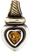 David Yurman Citrine Heart Enhancer