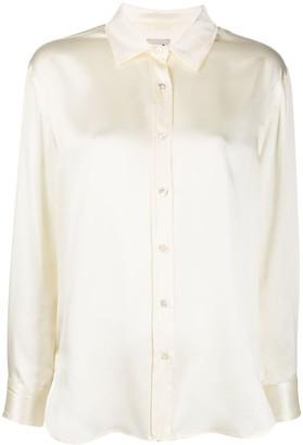 L'Autre Chose silk long-sleeve shirt