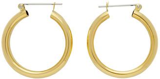 Laura Lombardi Gold Band Earrings