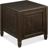 Barker End Side Table with Tray, Quick Ship