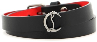 Christian Louboutin Loubilink leather bracelet