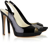 Magnum patent-leather pumps