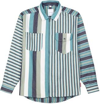 Martine Rose G-Mawgan Striped Cotton Jacket