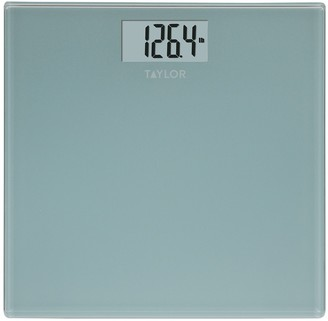 Taylor Glass Digital Spa Blue Bath Scale