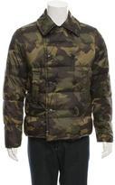 Michael Kors Camouflage Print Puffer Jacket