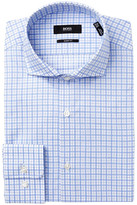 HUGO BOSS Check Sharp Fit Dress Shirt