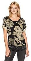 Desigual Women's Ts_irisa T-Shirt, Black