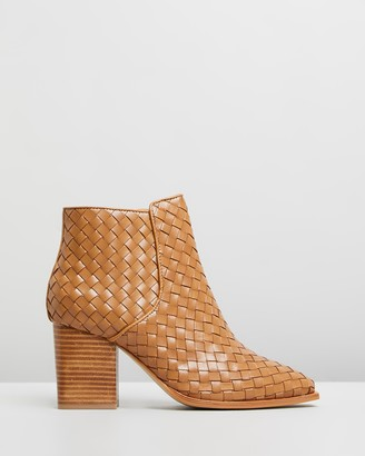 Sol Sana Women's Brown Heeled Boots - Felix Boots - Size 38 at The Iconic