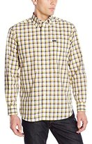 Façonnable Men's Cotton-Linen Check Shirt