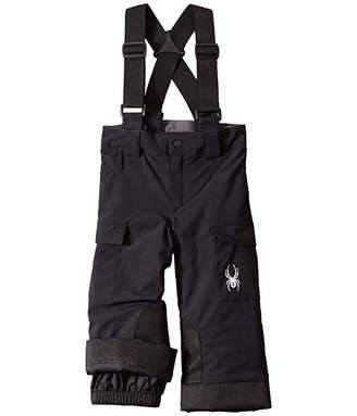 Spyder Mini Propulsion Pants (Toddler/Little Kids) (Black) Boy's Casual Pants