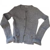 Miu Miu Grey Wool Knitwear