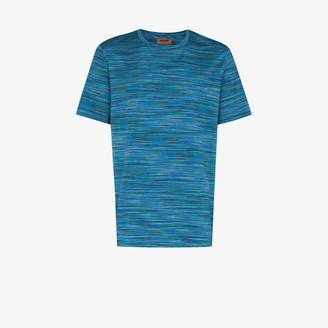 Missoni stripe knit cotton T-shirt