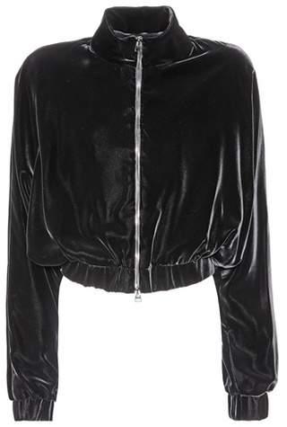 Tom Ford Cropped velvet jacket