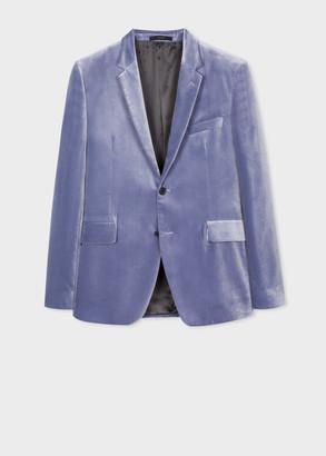 Paul Smith The Kensington - Slim-Fit Lavender Velvet Blazer