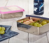 Pottery Barn Kids Spencer Stainless Dual Compartment Food Storage, Navy