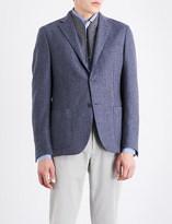 Corneliani ID herringbone regular-fit wool jacket
