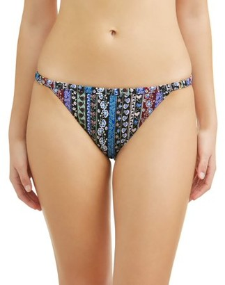No Boundaries Juniors' Bollywood Scoop Swimsuit Bikini Bottom