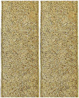 Kurt Adler Gold Glitter Ribbon 2Pc Set