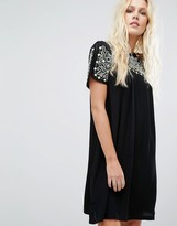 Little White Lies Oaxacan Embroidered Dress