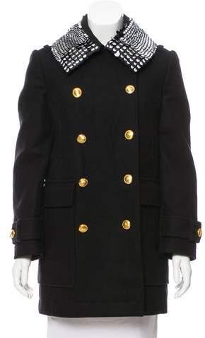 Altuzarra Embellished Wool Coat w/ Tags