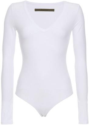 Enza Costa Stretch-cotton Jersey Bodysuit