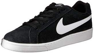 Nike Men's Court Royale Suede Sneakers, Black/Blanco (Black/White)