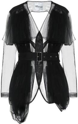 Noir Kei Ninomiya Tulle blazer