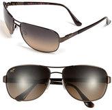 Maui Jim Men's 'Sand Island' Polarizedplus2 63Mm Sunglasses - Dark Brown