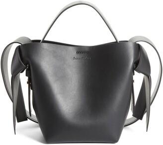 Acne Studios Mini Musubi Leather Top Handle Bag