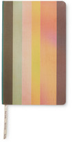 Paul Smith Striped Canvas Hardcover Notebook - Multi