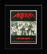 Hartworks Anthrax - I'm The Man Framed Mini Poster - 14.7x10.2cm